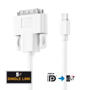 PureLink IS1300-015 Videokabel-Adapter 1,5 m Mini DisplayPort HDMI Weiß