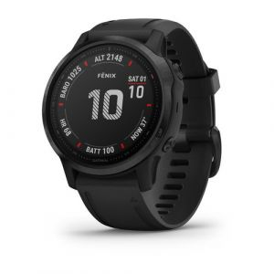 "Garmin fēnix 6S Pro montre intelligente Noir 3,05 cm (1.2"") GPS (satellite)"