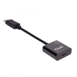 CLUB3D DisplayPort 1.2 auf HDMI 2.0 UHD Aktiver Adapter