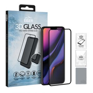 EIGER 3D GLASS Protection d'écran transparent Mobile/smartphone Apple 1 pièce(s)