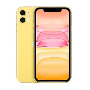 "Apple iPhone 11 15,5 cm (6.1"") 64 Go Double SIM Jaune"