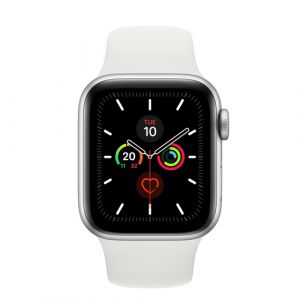 Apple Watch Series 5 OLED 40 mm Silber GPS