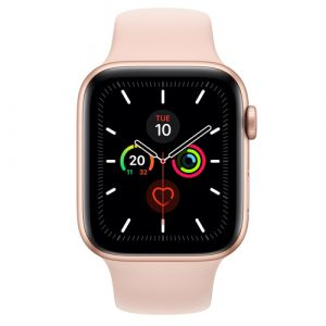 Apple Watch Series 5 Smartwatch Gold OLED GPS