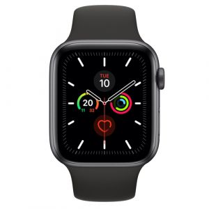 Apple Watch Series 5 OLED 44 mm Gris GPS (satellite)