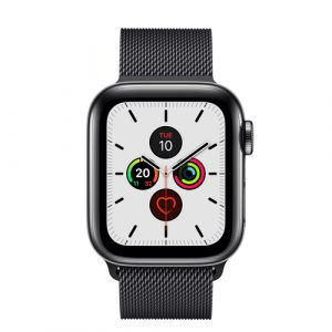 Apple Watch Series 5 OLED 40 mm Schwarz 4G GPS