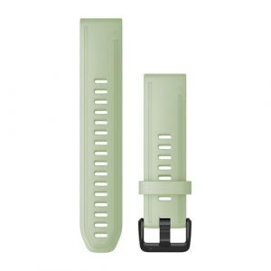 Garmin QuickFit 20 Watch strap Silikon Mintfarbe