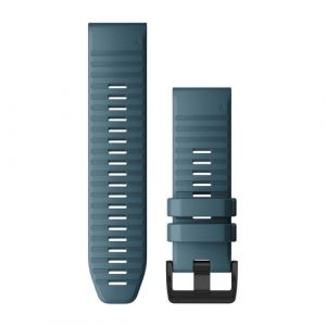 Garmin QuickFit 26 Watch strap Silicone Bleu