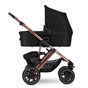 ABC Design Salsa 4 Air Jogging-Kinderwagen 1 Sitz(e) Schwarz, Rosa-Goldfarben