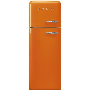 smeg fab30lo1 freistehend 293l a orange k hl und gefrierkombination. Black Bedroom Furniture Sets. Home Design Ideas