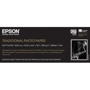 Epson Traditional Photo Paper, 64 Zoll x 15 m