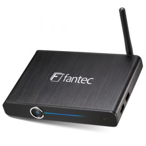 Fantec 4KS6000 Digitaler Mediaplayer 16 GB Full HD WLAN Schwarz