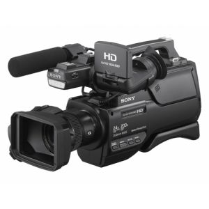 Sony HXR-MC2500E Camcorder 6,59 MP CMOS Shoulder camcorder Schwarz Full HD