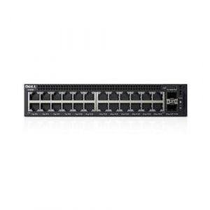 DELL X-Series X1026P Managed L2+ Gigabit Ethernet (10/100/1000) Schwarz 1U Power over Ethernet (PoE)