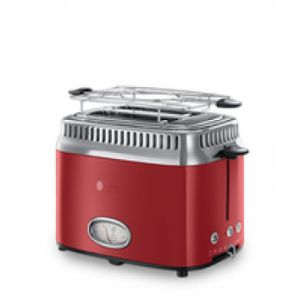 Russell Hobbs Retro Ribbon Toaster 2 Scheibe(n) Rot 1300 W