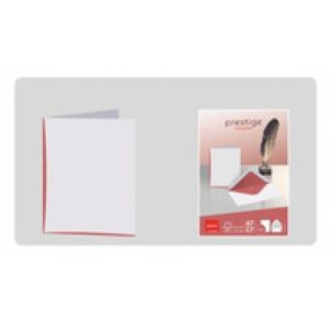 Elco 71714.12 enveloppe A7 (74 x 105 mm) Rouge, Blanc