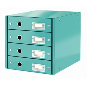 Leitz 60490051 Faserplatte Blau Dateiablagebox