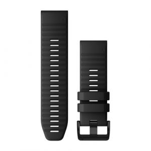Garmin QuickFit 26 Watch strap Silikon Schwarz