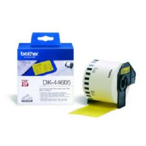 Brother DK-44605 Continuous Removable Yellow Paper Tape (62mm) Jaune