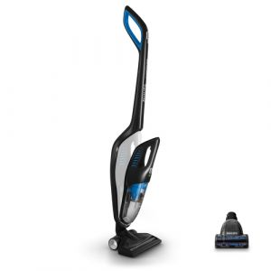 Philips PowerPro Duo Kabellos, 2-in-1-Akkustick, PowerCyclone-Technologie