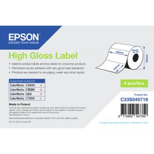 Epson High Gloss Label - Die-cut Roll: 102mm x 152mm, 800 labels