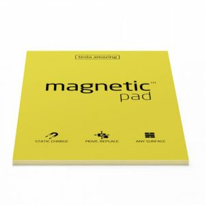 Magnetic Pad A4 Magnettafel 210 x 297 mm Gelb
