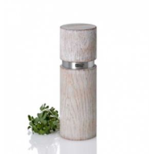AdHoc Textura Antique MP25 Pepper grinder Acier inoxydable, Blanc