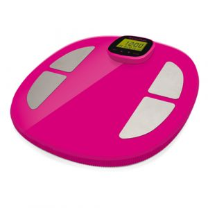 Terraillon Pop Easy View Electronic personal scale Rectangle Rose