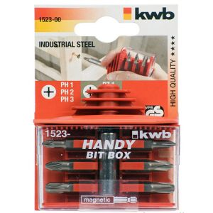 kwb 152300 Tournevis multi-embouts Tournevis multifonctionnel Tournevis manuel
