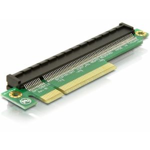 DeLOCK Riser PCIe x8 - PCIe x16 carte et adaptateur d'interfaces Interne