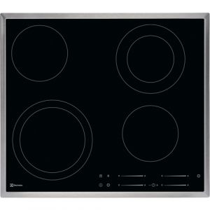 Electrolux GK58TSCN Schwarz Built-in (placement) Keramik 4 Zone(n)