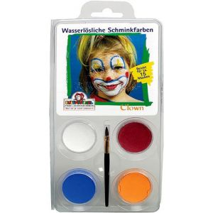 Clown Schmink-Set  (1122067-4)