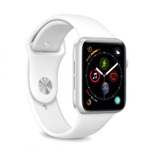 Pure: Icon Silicone Band - Apple Watch 42-44mm - white