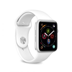 Pure: Icon Silicone Band - Apple Watch 38-40mm - white