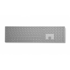 Microsoft Modern Keyboard with Fingerprint ID Tastatur Bluetooth QWERTZ Schweiz Grau