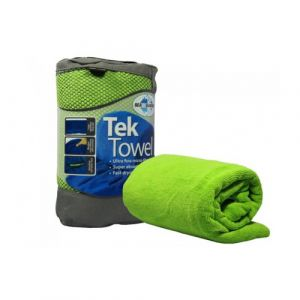 Sea To Summit Tek Towel XL 75 x 150cm Mikrofaser Limette Reisehandtuch