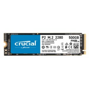 Crucial P2 M.2 500 Go PCI Express 3.0 NVMe